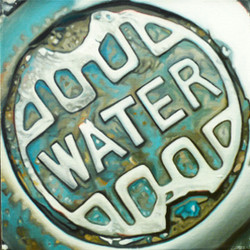 MANHOLE COVER - WATER