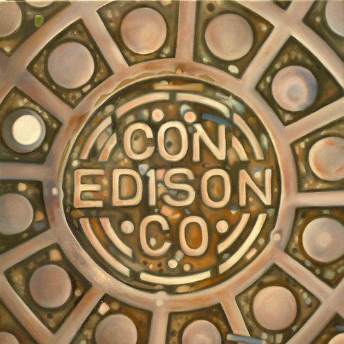 MANHOLE COVER-CON EDISON CO.