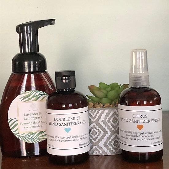 Soap & Sanitizer Combo