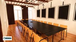 Conseil depuis entrée format réunion