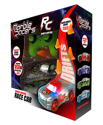 RC Marble Racers Green
