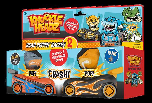 Knuckle-Headz Saber Tooth vs Wolf