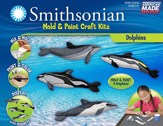 Smithsonian Mold & Paint Dolphin