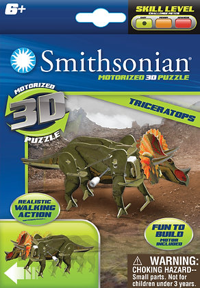 3D Puzzle Triceratops