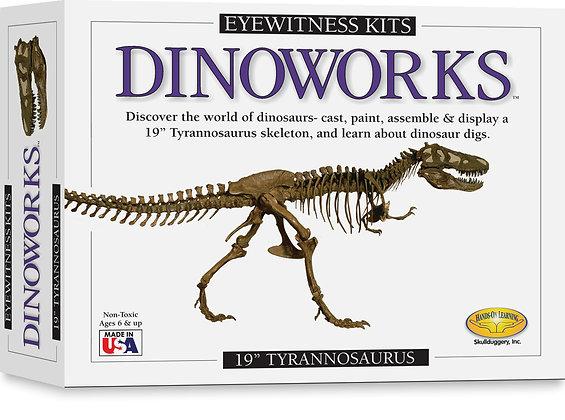 Eyewitness Dinoworks Tyrannosaurus Rex