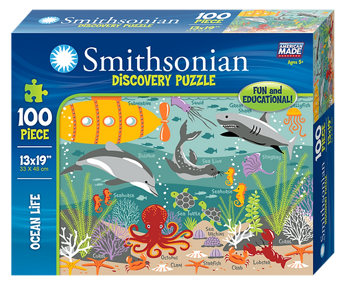 Smithsonian 100 Piece Puzzle Ocean