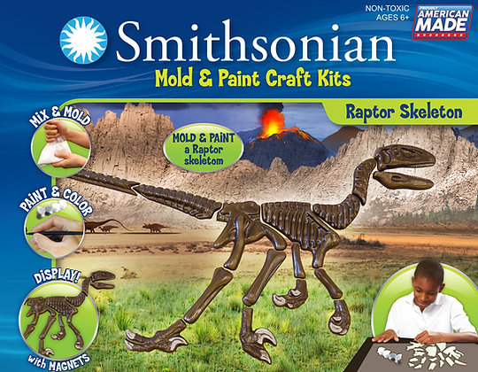 Smithsonian Mold & Paint Velociraptor