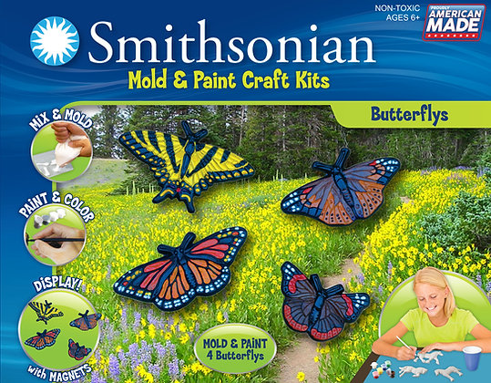 Smithsonian Mold & Paint Butterfly