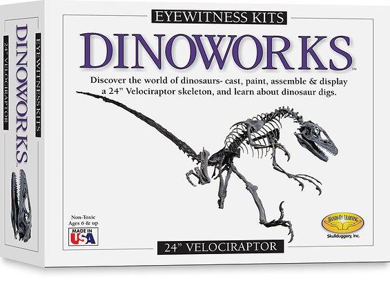 Eyewitness Dinoworks Velociraptor