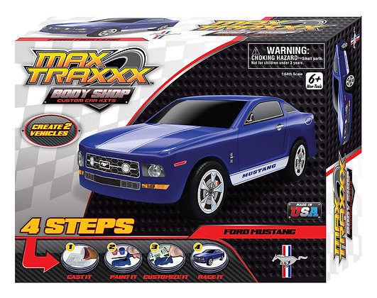 Body Shop Mustang Casting Kit
