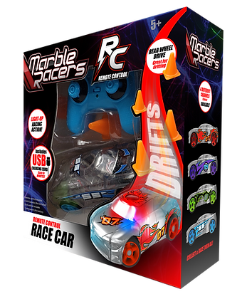 RC Marble Racers Blue
