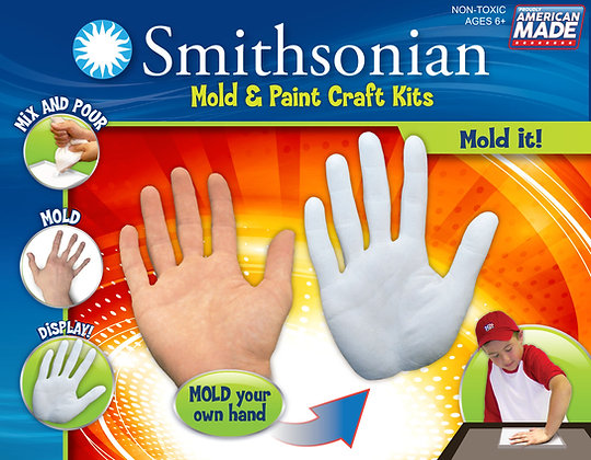 Smithsonian Mold & Paint Hand Mold