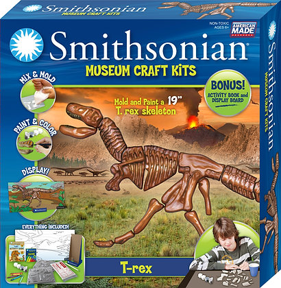 Smithsonian Museum Craft Kits Trex