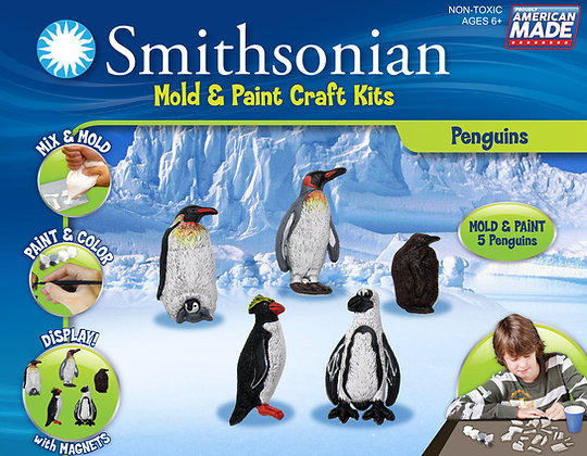 Smithsonian Mold & Paint Penguin
