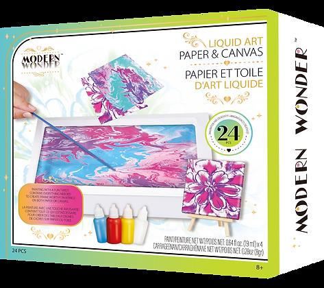Liquid Art Paper & Canvas