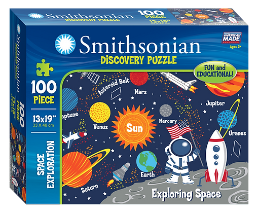 Smithsonian 100 Piece Puzzle Space