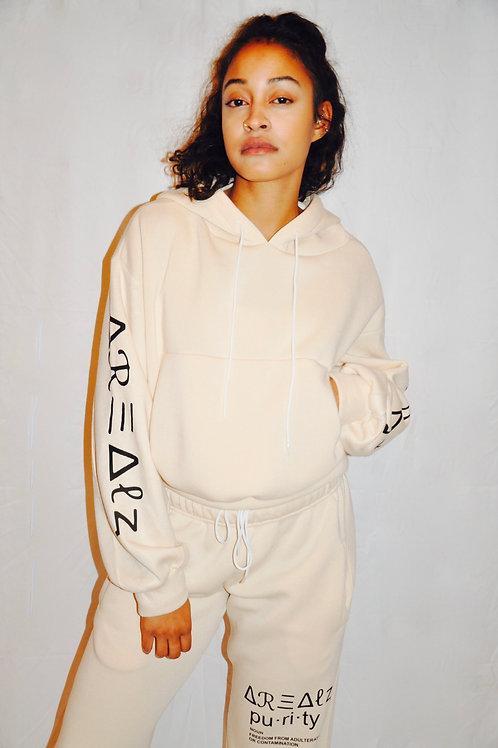 Purity Crop Hoodie Sweater