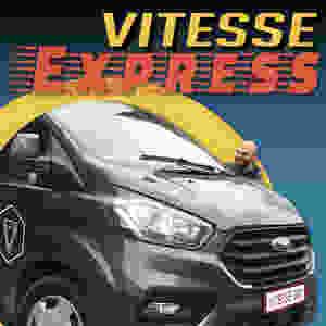 Vitesse Express fietsophaaldienst bestelwagen