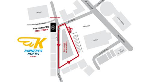 Overzichtsplan Vitesse Kinnekeskoers 2019