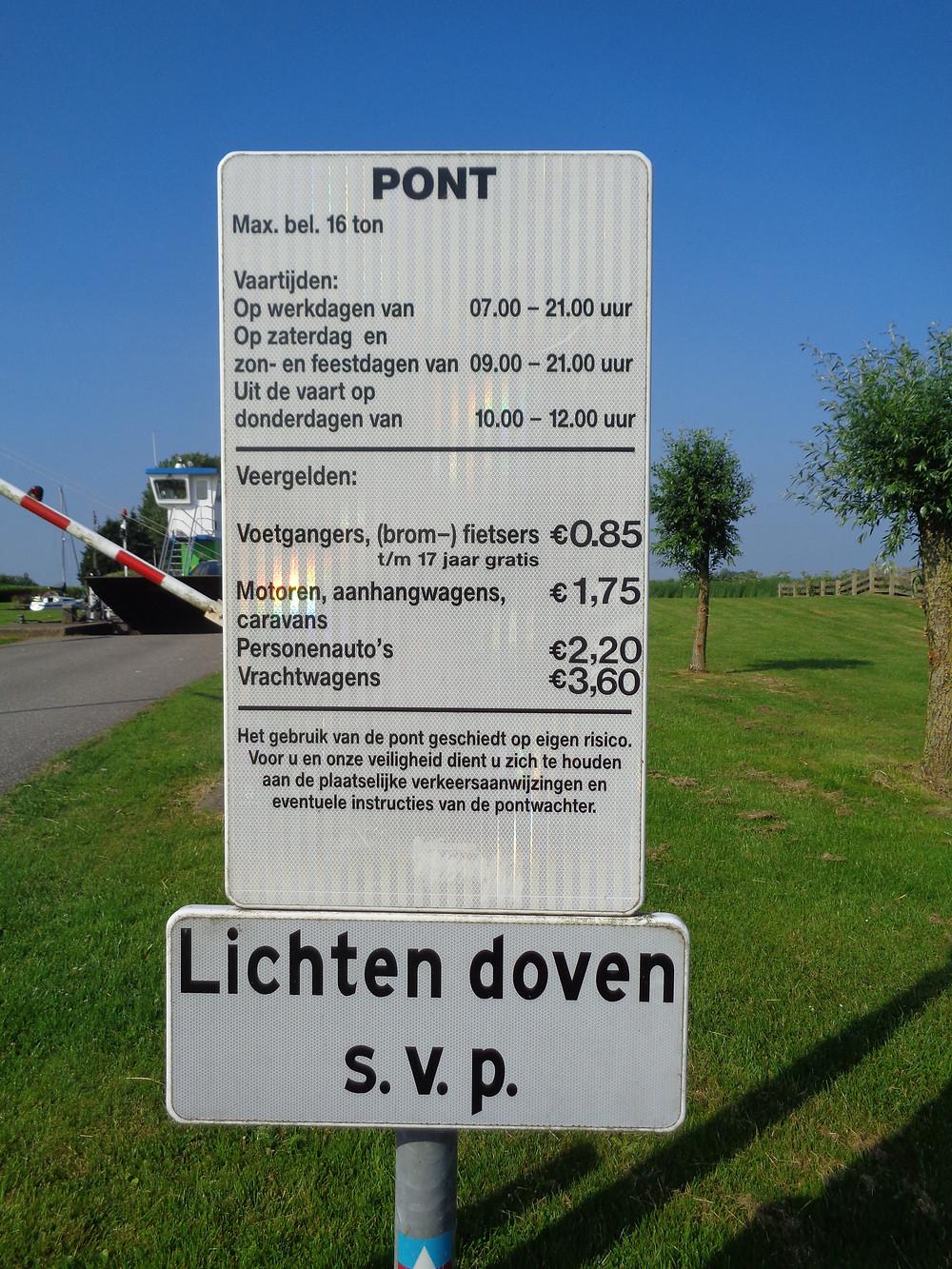 Pont fietsreis Friesland