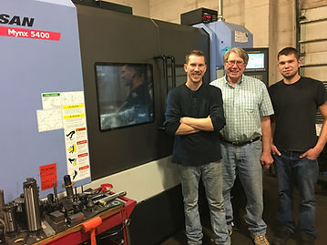 John, Hubet and Dan Pineau