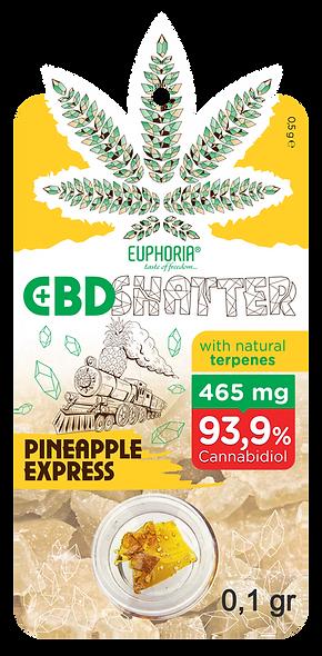 CBD SHATTER PINEAPPLE EXPRESS 93