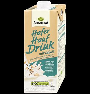 Hafer-Hanf-Drink mit Leinöl (1 l )