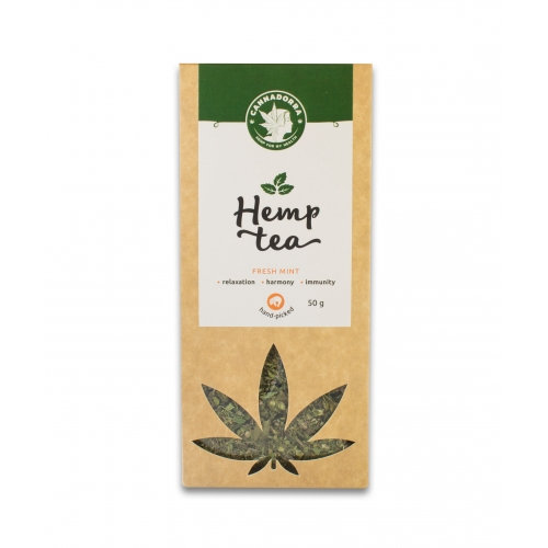 Hemp tea with mint, 50g