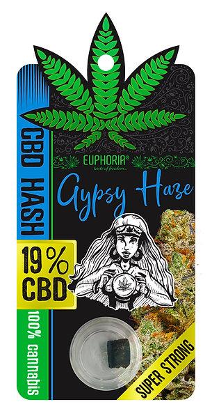 CBD HASH 19% GYPSY HAZE 1 gr.