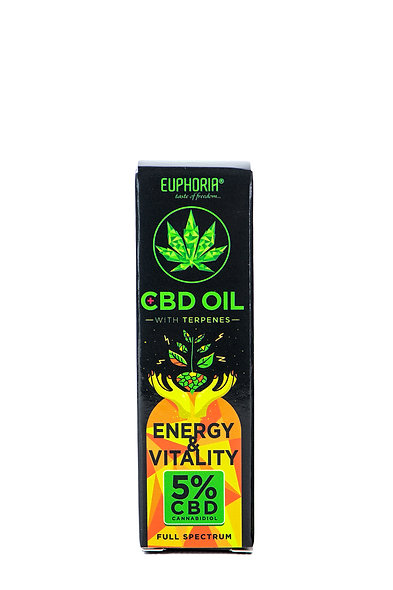 CBD OIL 5% WITH TERPENE: VITALITY