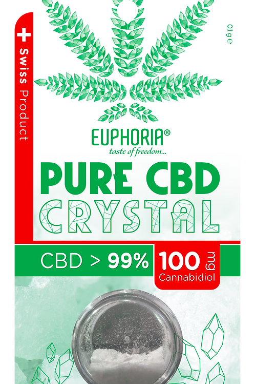 Euphoria PURE CBD CRYSTAL 99,6%