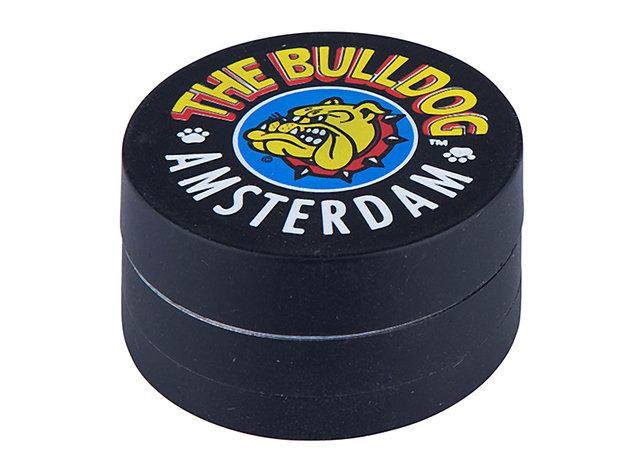 """Grinder """"Bulldog"""" 3-part. Black, Ø 45mm"""