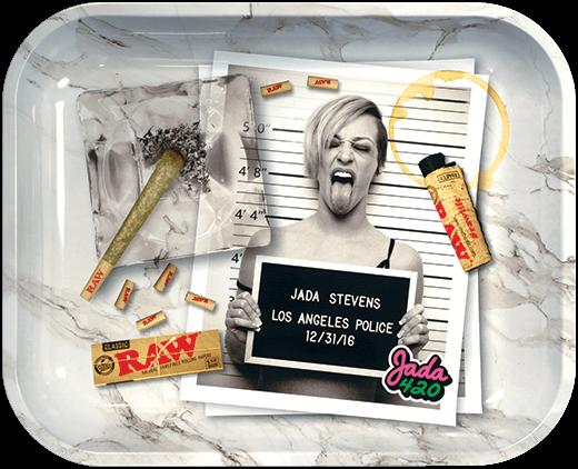 RAW x Jada Stevens Rolling Tray