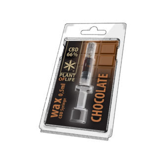 CBD Wachs 66% Schokolade