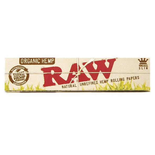 Papers Raw Hemp organisch