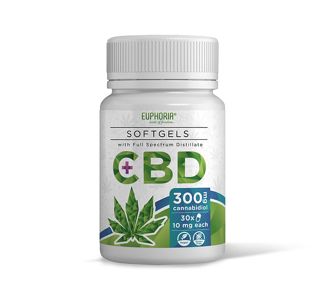 SOFTGEL DI CBD 300 MG