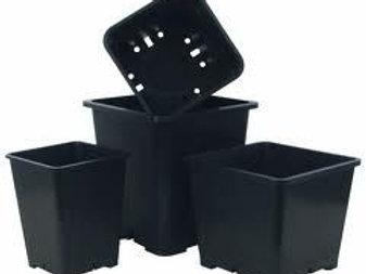 Quadratische Vasen -0,6-1,7-3,4-6,5-11-16 L