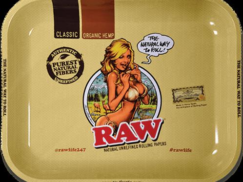 RAW Girl Rolling Tray