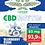Thumbnail: CBD Shatter Blueberry Kush 93 mg CBD