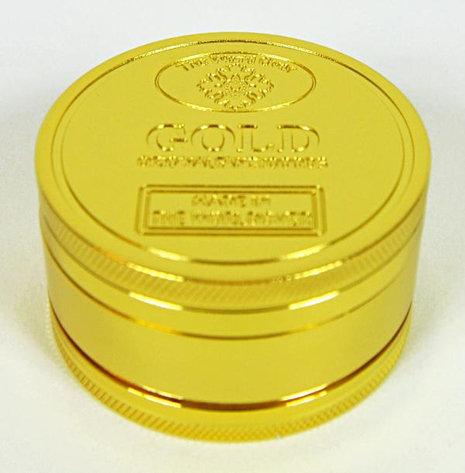 "Grinder ""Goldbar"" 3-part, 4.9 x 2.7cm"