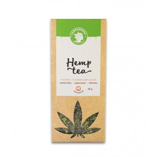 Hemp tea - leafs and buds, 30g