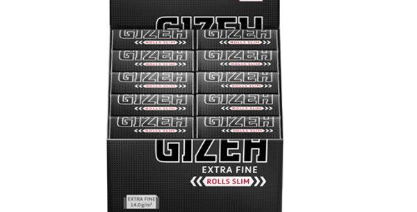 GIZEH Endless Rolls Slim Extra Fine 5 m
