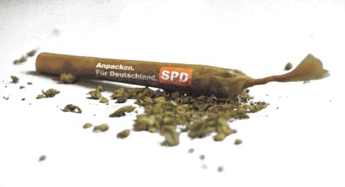 SPD-Spitze für Cannabis-Legalisierung