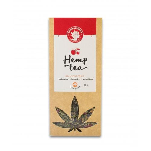 Hemp tea with fruits 50g