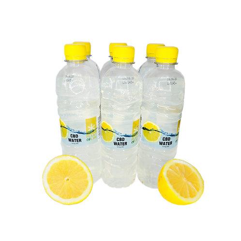 10mg CBD Wasser und leichten Zitronen Geschmack 0,5 L