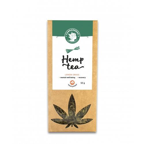Hemp tea with lemon grass, 50g