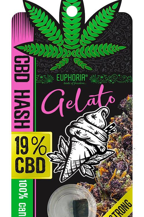 CBD HASH 19% GELATO 1 gr.