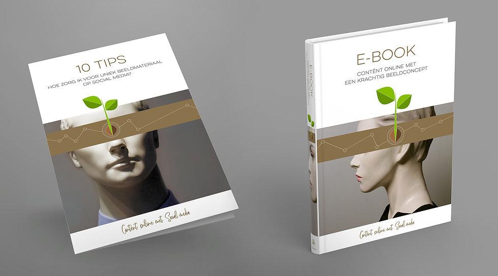 Het E-book 'Contentcreatie' van ContentiQ