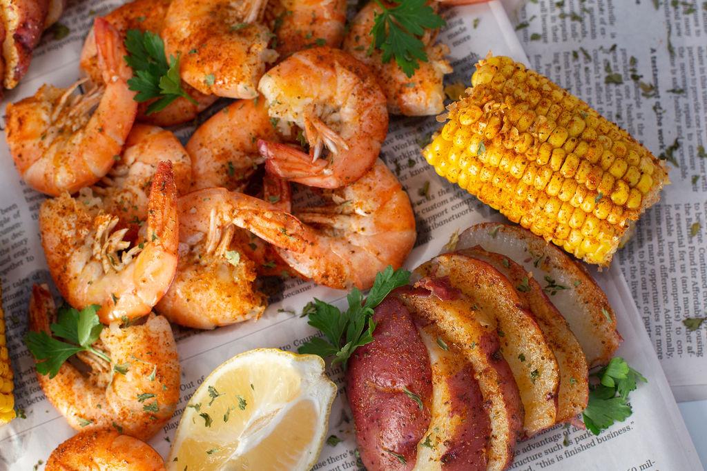 steamed shrimp vertical