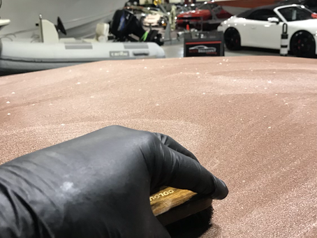 Convertible Cloth Top Cleaning and Conditioning